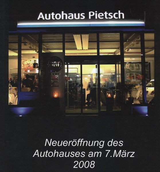 autohaus pietsch gmbh walldorf historie. Black Bedroom Furniture Sets. Home Design Ideas