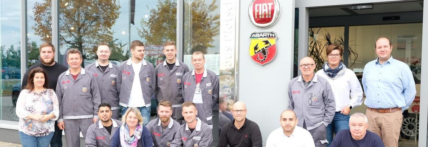 Das Team vom Autohaus Pietsch in Walldorf/Baden